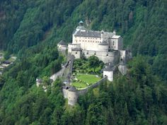 The most magnificent castles in Austria  Castle Kreuzenstein. The castle is located 20 km from the capital, Vienna, is situated on a hill with great views. In 1645 was totally destroyed during the 30 Years War. In its present form the castle is finished in 1874 - 1907 year in typical medieval style.
