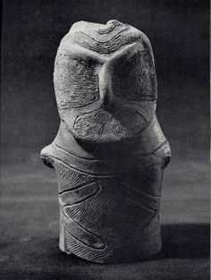 Clay Figurine from Jomon Period (Suntory Museum)
