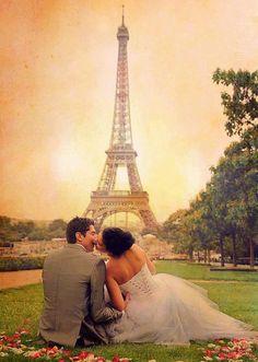 I do. cute couple in love just married Eiffel Tower Paris Paris Engagement Photos, Engagement Shoots, Tour Eiffel, Parisian Wedding, Parisian Chic, Paris Love, Paris Photos, Travel Themes, Travel Destinations