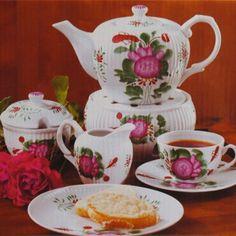 Tee-Service »Ostfriesische Teerose»: Amazon.de: Küche & Haushalt