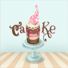 Create a Colorful Cake Illustration in Photoshop