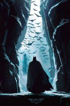 Imaginary Gotham - The art of Batman and his Universe. Batman Painting, Batman Artwork, Batman Comic Art, Batman Wallpaper, Batman Drawing, Uhd Wallpaper, Dark Knight Wallpaper, Batman Cartoon, Le Joker Batman