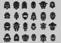 helmet designs 2 by QuailMail.deviantart.com on @deviantART