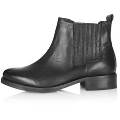 TOPSHOP AUGUST Classic Chelsea Boots- WANT!