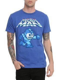 mega man video game t-shirt