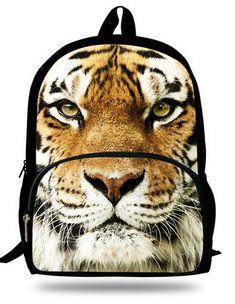 Mochila Tiger Bag Backpack Kids Animal Bag Age Children School Bags Boys For Teenagers Mochila Escolar Menino School Bags For Kids, Kids Bags, Kids Backpacks, School Backpacks, Zoo Animals, Animals For Kids, Animal Print Fashion, Animal Prints, Animal Bag