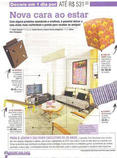 A mesa de centro BUG da MMM está na revista Decore sua Casa do mês de maio.  http://www.meumoveldemadeira.com.br/produto/mesa-de-centro-bug-chocolate-e-amarelo-canario