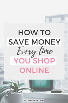 Want to save money every time you shop online with the click of a button? Learn just how easy it is with this simple to follow step-by-step guide. save money   shop online   online shopping   cash back   cashback   shopping   earn