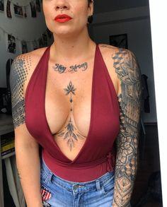Mini Tattoos, Sexy Tattoos, Cute Tattoos, Small Tattoos, Sleeve Tattoos, Tattos, Thigh Tattoos, Dope Tattoos For Women, Chest Tattoos For Women
