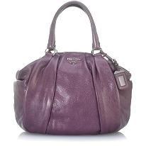 Prada Cervo Antik Bowler Handbag