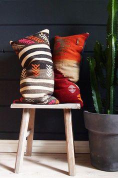 Vintage Kilim Pillows.