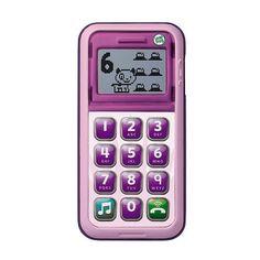 "LeapFrog Chat & Count Cell Phone - Violet - LeapFrog - Toys ""R"" Us"