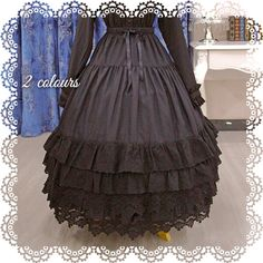 Thorn Castle Layered Long Underskirt