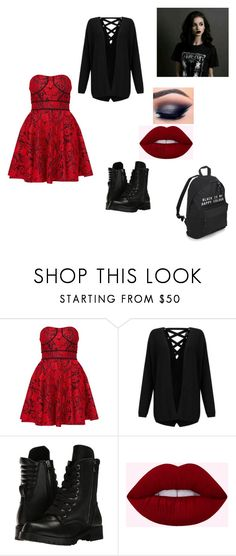 """""""First Day-Zoe"""" by whatwouldspencerhastingsdo ❤ liked on Polyvore featuring Miss Selfridge and Capezio"""