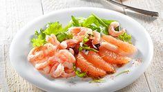 Découvrez notre recette de salade de pamplemousse et crevettes - recette institut paul bocuse pour 4 personnes. Une recette de difficulté sur 4 préparée en 20 min (cuisson : )