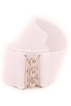 Malco Modes Ribbed Cotton Stretch Belt; many colors available (Style CB2)