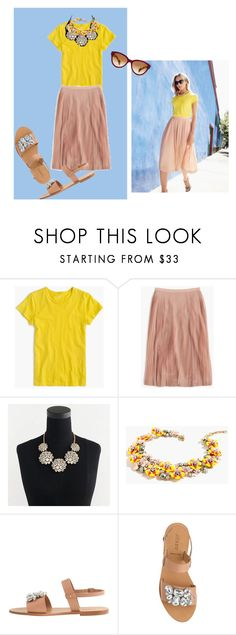 """My Take...but not sure about this shade of Yellow."" by bichonluvr ❤ liked on Polyvore featuring J.Crew"