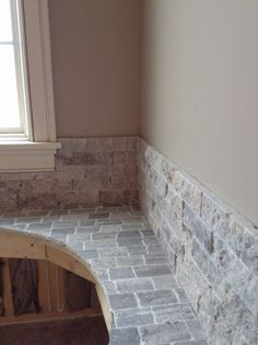 Tub surround by Bob & Pete's Floors, Canton, OH. (330) 478-0576 www.bobandpetesfloors.com www.facebook.com/pages/Bob-and-Petes-Floors/454860385715 Tub Surround, Shower Ideas, Floors, Tile Floor, Bob, Bathtub, Facebook, Bathroom, Design
