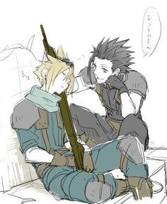 Still playing ff7 so I haven't met Zack yet, but I love him from Pinterest alone :)