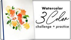 Watercolor Art Diy, Watercolour Tutorials, Watercolor Paintings, Watercolors, Watercolour Challenge, Color Mixing, The Creator, Challenges, Youtube