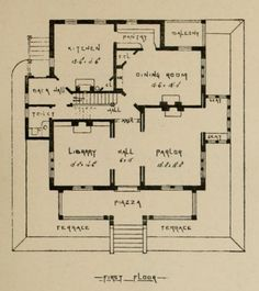 Kitchen Scullery Layout 1 House Ideas Floor Plans