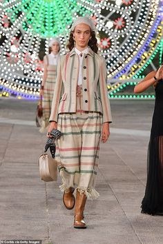 Dior presents 90 looks in its Cruise collection to an empty venue in southern Italy with hopes 20 million fashionistas will tune in from home. Cruise Collection, Southern Italy, Catwalk, Cool Style, Dior, Fashion Show, Style Fashion, Dior Couture, Runway Fashion