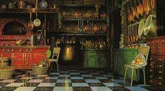 Zeniba's place,  Spirited Away