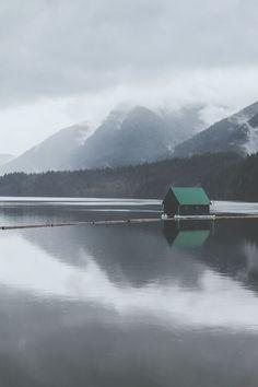 Capilano Lake II ➾ Luke Gram schoengeistig.tumblr.com