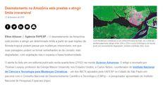 curiosidades ocultas: BRASIL Desmatamento na Amazônia está prestes a ati...