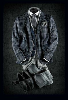 Curated Fall Looks [Original Content] Mode Masculine, Sharp Dressed Man, Well Dressed Men, Mens Fashion Suits, Mens Suits, Fashion Outfits, Style Costume Homme, Traje Casual, Design Set