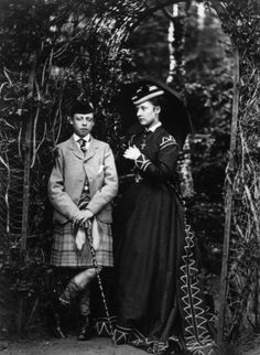 The Prince Leopold (Duke of Albany) and The Princess Louise (later The Duchess of Argyll), 1868.