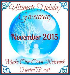 Be sure to enter the Ultimate Holiday #Giveaway - ends 11/20!