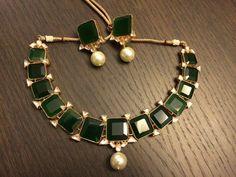 Kundan Bridal Jewelry Store for Indian Wedding Jewelry by Kundanweddingjewelry Stylish Jewelry, Jewelry Accessories, Fashion Jewelry, Cheap Jewelry, Antique Jewelry, Emerald Jewelry, Gold Jewelry, Jewelry Box, Chokers