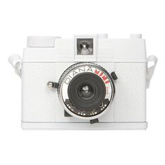 Lomography 'Diana Mini' Camera White One Size ($69) ❤ liked on Polyvore featuring fillers, camera, accessories, electronics, other, quotes, women, saying, text and phrase