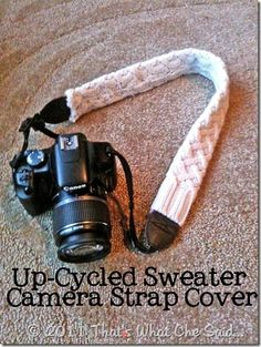 Sweater Camera Strap