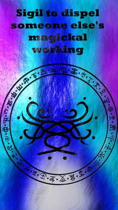 Wolf Of Antimony Occultism — May I have a sigil to dispel and protect against. Sigil Magic, Magic Symbols, Norse Symbols, Wiccan Spell Book, Witch Spell, Witchcraft For Beginners, Dungeons And Dragons Memes, Dragon Memes, Magick Spells