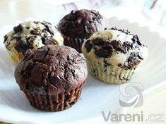 Recept na muffiny, které budou chutnat celé rodině. Mini Desserts, Sweet Recipes, Cake Recipes, Cap Cake, Sweet Cooking, Christmas Sweets, Desert Recipes, 4 Ingredients, Nutella