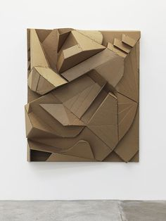 Florian Baudrexel Relief Brist 2014 abstract sculpture