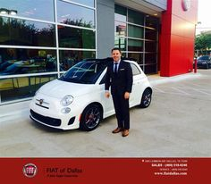 https://flic.kr/p/H5zEmf   Congratulations Anthony on your #FIAT #500c from Farzin Rejaie at FIAT of Dallas!   deliverymaxx.com/DealerReviews.aspx?DealerCode=F741