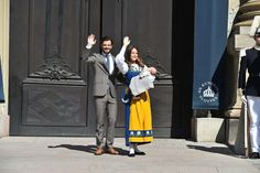 Prince Carl Philip, Princess Sofia and Prince Alexander