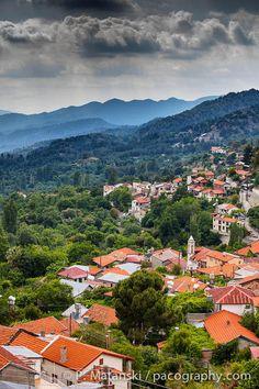 Foini village, Troodos, Cyprus