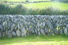 Irish rock walls