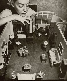 Maybe I need a little dollhouse instead.