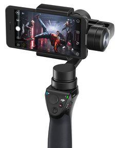 Avec l'Osmo Mobile, capturez vos souvenirs et partagez vos meilleurs moments plus facilement et dans un style cinématographique.