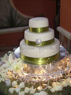 Pastel de boda en Mexicali F#1.227 / Wedding cake