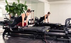 """""""""""Make sure you do this movement slowly—it should take you four counts to extend out, two counts pause and four counts to return to neutral."""" http://www.thecoveteur.com/recreate-workout-at-home-pilates/"""