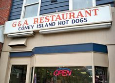 Best hot dogs and a step back in time in Baltimore at the G & A Restaurant | 3802 Eastern Avenue | Baltimore MD 21224