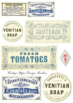 village girl happiness ♥: More Freebie Labels ... and some more ideas!