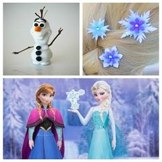 Frozen Inspired Crafts & Recipes.