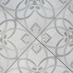 #mønster #Ingrid #betongreys #terratinta #flis #marokkansk #norfloorlade #grå